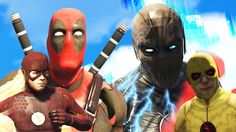 THE FLASH + DEADPOOL vs ZOOM + REVERSE FLASH! (GTA 5 Mods Funny Moments) - Video --> http://www.comics2film.com/the-flash-deadpool-vs-zoom-reverse-flash-gta-5-mods-funny-moments/  #TheFlash