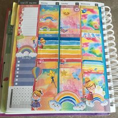 May 23-25 before the pen: Check out this gorgeous spread brought to you by @faryeplans & @letspaperup - both found in the @colorcodesigns May Rainbow Bundle - get these and many more printables for $12.99 with 10% off using code UNCOMMONPLANS10 now: use the link in my bio! ⬆️ So in love with this cute kit: this is in the @lifedesignerplanner which is the same dimensions as ECLP vertical!  #uncommonplans #colorcodesigns #rainbow #weeklyspread #printables #printablesti...