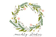This listing includes: 1 PNG Floral Wreath clip art (colored as shown on a transparent background) *Floral clipart is 4000 x 3893 pixels @ 300 dpi Does your Wreath Watercolor, Watercolor And Ink, Watercolor Christmas, Corona Floral, Wreath Drawing, Wedding Clip, Flower Clipart, Art Clipart, Pencil Illustration