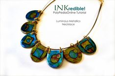 INKredible Polymer - Alcohol Inks and Polymer Clay Tutorial