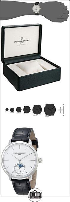 Frederique Constant Slim Line Moonphase Men's 38.8mm Automatic Watch FC703S3S6  ✿ Relojes para hombre - (Lujo) ✿