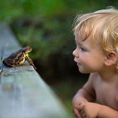 The wonder of a child.