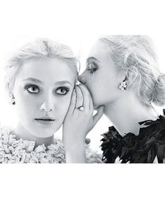 Dakota & Elle Fanning Talk Raiding Closets & Screaming Over Chanel