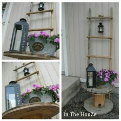 Ladder Decor, Shelves, Decorating, Home Decor, Decor, Shelving, Decoration, Decoration Home, Room Decor
