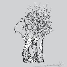 minimalist drawings animals - Google Search