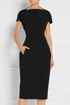 Rick Owens | Dagger Calpurnia cotton-blend canvas dress | NET-A-PORTER.COM