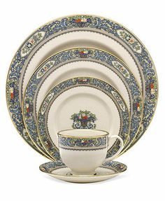 Getting Grandma's china, but can fill in the blanks with this collection.  Lenox Autumn Collection
