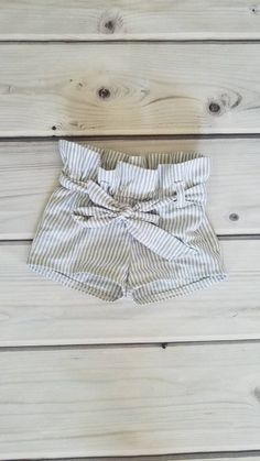 Ruffle shorts for baby