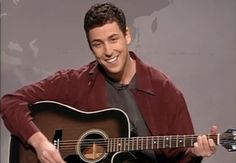 """Adam Sandler's """"Hanukkah Song"""" is one of the only Jewish songs played during the holiday season, where as Christmas music is extremely popular and has thousands of songs dedicated to the genre of """"holiday music. Adam Sandler Hanukkah Song, Biography Film, Snl Skits, Weekend Update, Andy Samberg, Beastie Boys, Saturday Night Live, Christian Music"""