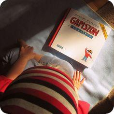 O tym, że...: Ewa czyta o Gapiszonie (Gapiszon i Korniszon, wyd. Ongrys)