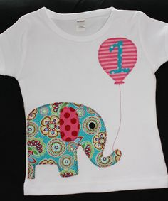 elephant birthday. What is that elephant body fabric? Love it!
