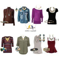 Necklaces for Necklines Diy Fashion, Autumn Fashion, Fashion Outfits, Womens Fashion, Fashion Tips, Fashion Design, Necklace For Neckline, Business Casual Attire, Diy Clothes