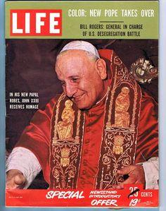 LIFE MAGAZINE - NOVEMBER 10, 1958 - POPE JOHN XXIII | eBay