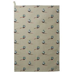 BuySophie Allport Pheasant Tea Towel Online at johnlewis.com