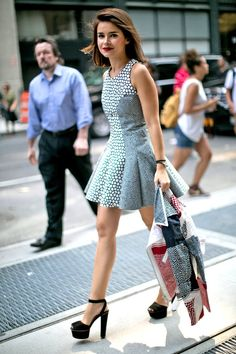 【ELLE】【STYLE1】ミニドレスが私の定番!|ファッショニスタ4人の3DAYSを追っかけ@2014春夏NYファッションウィーク|エル・オンライン