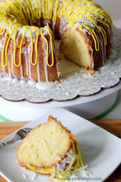 Yummy Lemon Bundt Cake!