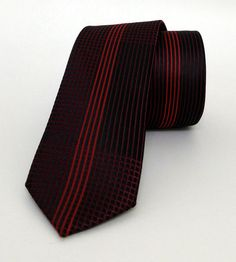 Claret Red Mens Tie 5,5 cm (2,17 #handmadeatamazon #nazodesign