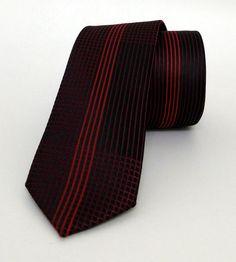 Claret Red Mens Tie 5,5 cm (2,17 #handmadeatamazon #nazodesign