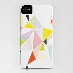 Multicolor Geometric iPhone Case