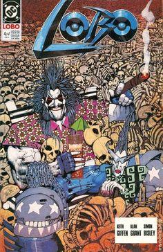 LOBO #4  DC COMICS  FEBRUARY 1991  $1.50