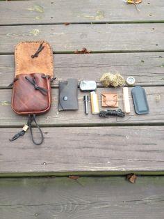 Belt Pouch Fire Kit
