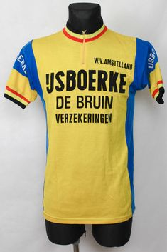 Details zu 80er Rad Trikot Fahrrad Gr. M 50cm vintage Wolle Bike cycling  jersey Shirt P5 12dc29684