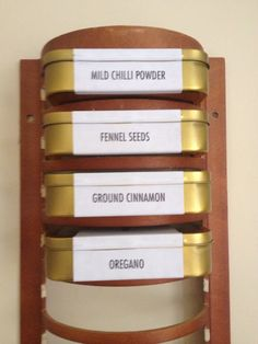 IKEA Hackers: Obsolete CD rack to useful spice storage