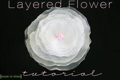 Singed Layered Flower Tutorial