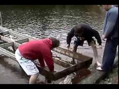 Pulling the dock out on mink lake drunk fail