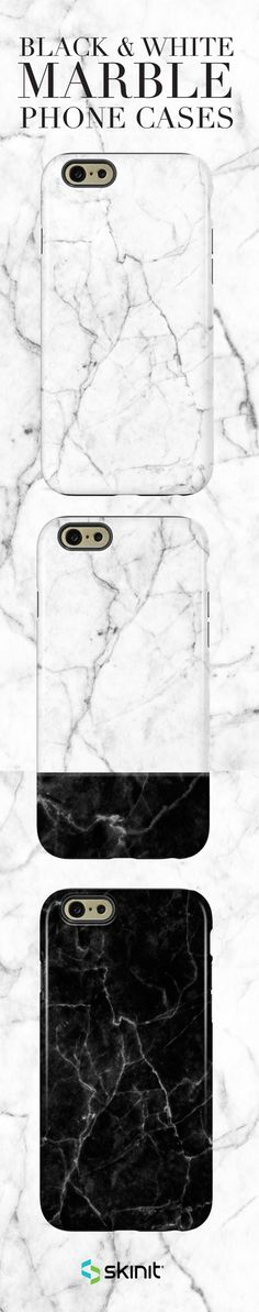 Sleek & modern, marble phone cases are a fashionista's must-have! Add style to your phone with our Marble Collection, available as a case or skin for multiple devices. Shop more designs at www.skinit.com #SkinitMade