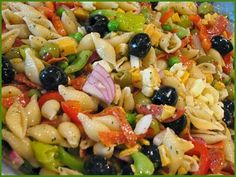 Fat Johnny's Front Porch: Hot Weather ~ Cold Pasta Salad