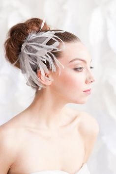 Tessa Kim creates handmade, vintage-inspired veils and bridal accessories to fit the modern day bride's ensemble.