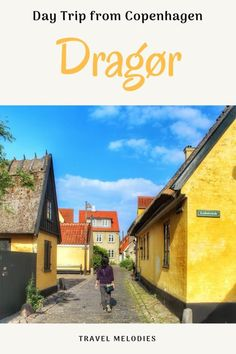 You'd love to have a day date with a charming Danish village of Dragør Denmark. Here's a guide to a day trip from Copenhagen to Dragør for you to plan one. Places In Europe, Europe Destinations, Europe Travel Tips, European Travel, Travel Guides, Travelling Europe, Travel Advice, Denmark Travel, Scandinavian Countries