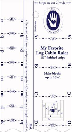 Marti Michell Log cabin rulers