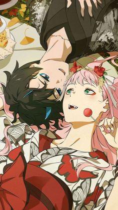 Anime Girlxgirl, Otaku Anime, Anime Love, Cute Anime Pics, Fanarts Anime, Cute Anime Couples, Anime Films, Anime Characters, Kawaii Anime Girl