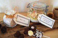 Geschenke aus der Küche für die ganze Familie,Baconsalz,  Schoko-Lollis, Risotto mit Pilzen und Thymian  Blackforestkitchenblog