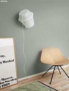 Bilderesultat for minty breeze Room Colors, Wall Colors, House Colors, Color Inspiration, Interior Inspiration, Jotun Lady, Ideas Prácticas, Interior And Exterior, Interior Design