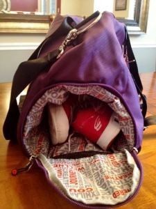 Serious Gym Bag for Serious Gym Rats. Love this LUXX bag!