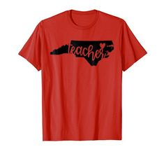 North Carolina State Pride Teacher T-Shirt Red for Ed Fun... https://www.amazon.com/dp/B07BJK9CKD/ref=cm_sw_r_pi_dp_U_x_6Vh9Ab460QA7K