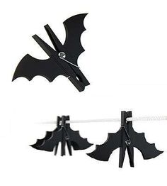 Batman Clothespins