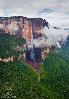 Angel Waterfall Of Venezuela  By Dima Moiseenko