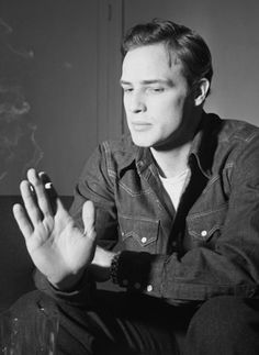 Marlon Brando by Margaret Bourke-White, 1952