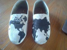 #toms #paintedtoms #world #shoes