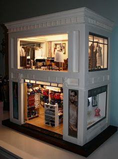 Cute Kids, Liquor Cabinet, Storage, Barbie, House, Doll, Furniture, Home Decor, Little Cottages