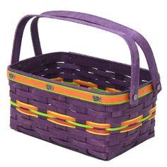 2011 Longaberger purple Jelly Belly Event basket.