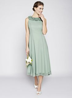 Dark Mint Nancy Bridesmaid Dress