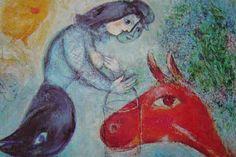 「赤い馬」