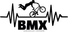 Heartbeat Pulse Line Bmx Stuntman stockvector (rechtenvrij) 1012523236 Harry Styles Pictures, Bicycle Art, Silhouette Portrait, Bmx Bikes, Quote Aesthetic, In A Heartbeat, Illustrations, My Design, Digital Art