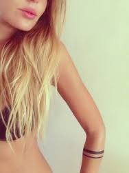 Image result for minimal tattoo arm band