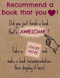 Interactive bulletin board idea for librarians week